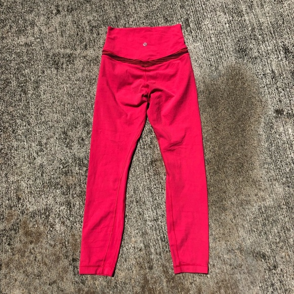 lululemon athletica Pants - Lululemon high waisted leggings size 4